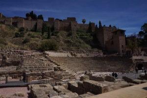 マラガのローマの遺跡