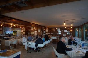 マルベージャのレストラン サンチアゴ内