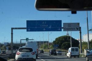 ポルトガルの高速道路
