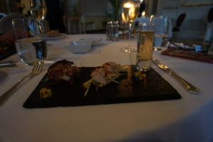 リスボン ぺスタナパレス 夕食