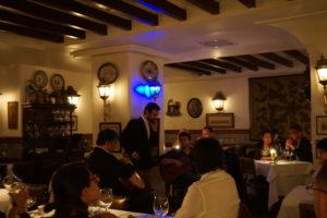 リスボン ファドレストラン