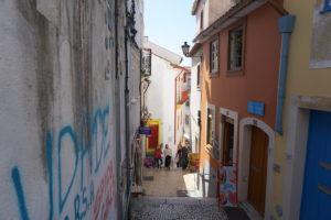 コインブラの旧市街
