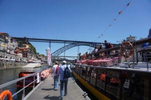 ポルト ドゥエロ川遊覧船