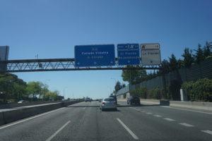 マドリードからサリアへ移動