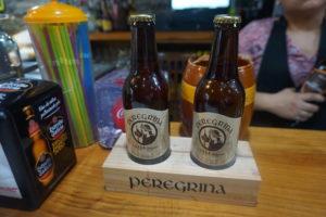 サリアのバルで巡礼者という名のビール