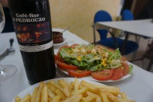 サンチアゴの道オーペドローサのレストラン