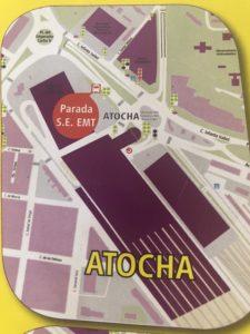 アトーチャ駅バス乗り場