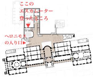 プラド美術館フラ・アンジェリコ展場所