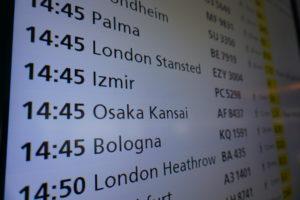 アムステルダム、スキポール空港乗り継ぎ
