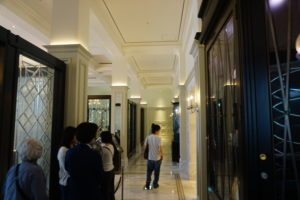 東京ステーションホテルの喫茶