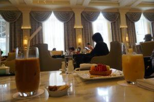東京ステーションホテル喫茶