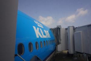 KLMビジネスクラス