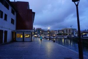 サン・セバスティアンの港