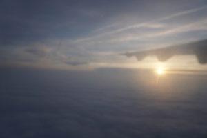 サンセバスティアン行きのイベリア航空