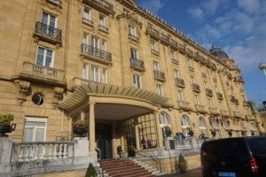 サンセバスティアン、マリアクリスティーナホテル