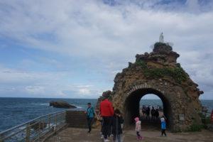 ビアリーツ、聖母の岩