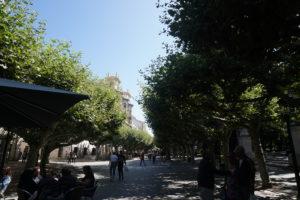 ブルゴスの遊歩道