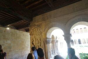 サント・ドミンゴ・デ・シロス修道院回廊