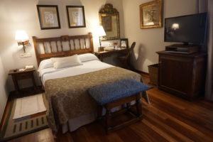 サンチアゴデコンポステーラ、パラドール部屋