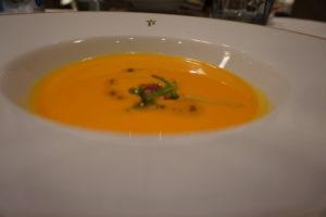 サンチアゴデコンポステーラ、パラドールの夕食