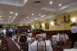サンチアゴのレストラン、ラ・カレータ