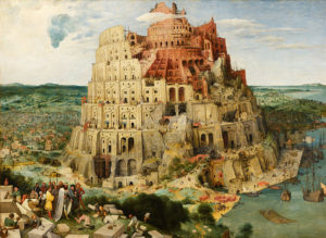 バベルの塔、ブリューゲル