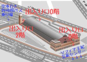 アトーチャ駅構造
