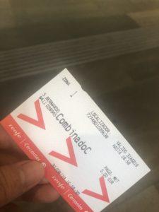 アトーチャ駅切符
