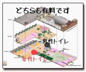 アトーチャ駅の有料トイレ