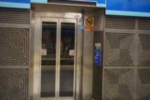 アトーチャ駅メトロのエレベーター