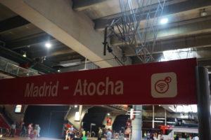 アトーチャ駅セルカニアスのホーム
