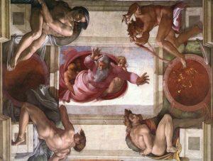 システィーナ礼拝堂の天地創造