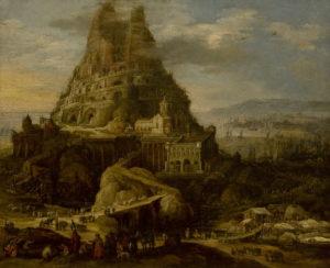 バベルの塔の絵