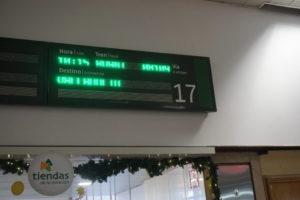 チャマルティン駅のセゴビア行き