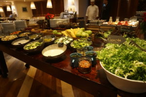 メキシコシティー、シェラトンホテル朝食