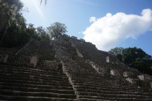 メキシコユカタン半島、カラクムル遺跡