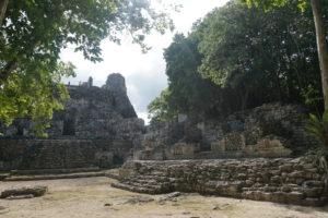 メキシコユカタン半島、べカン遺跡