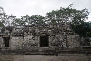 メキシコユカタン半島、チカンナ遺跡