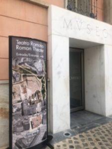 カルタヘナのローマ遺跡