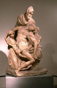 ミケランジェロ フィレンツェのピエタ