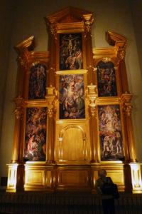 エル・グレコ、受胎告知があった礼拝堂の祭壇の再現