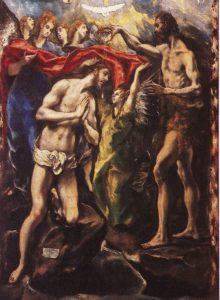 エル・グレコ、キリストの洗礼
